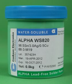 Alpha Metals Alpha Ws820 Water Soluble Solder Paste