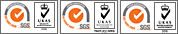 UKAS Quality Management - SGS ISO 9001-2008, UKAS Health & Safety - SGS BS OHSAS 18001, UKAS Environmental Management - SGS ISO 14001-2004