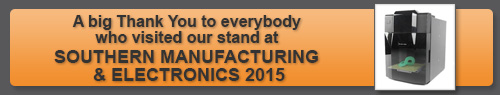 See us at the Southern Manufacturing and Electronics Show, Farnborough 2015