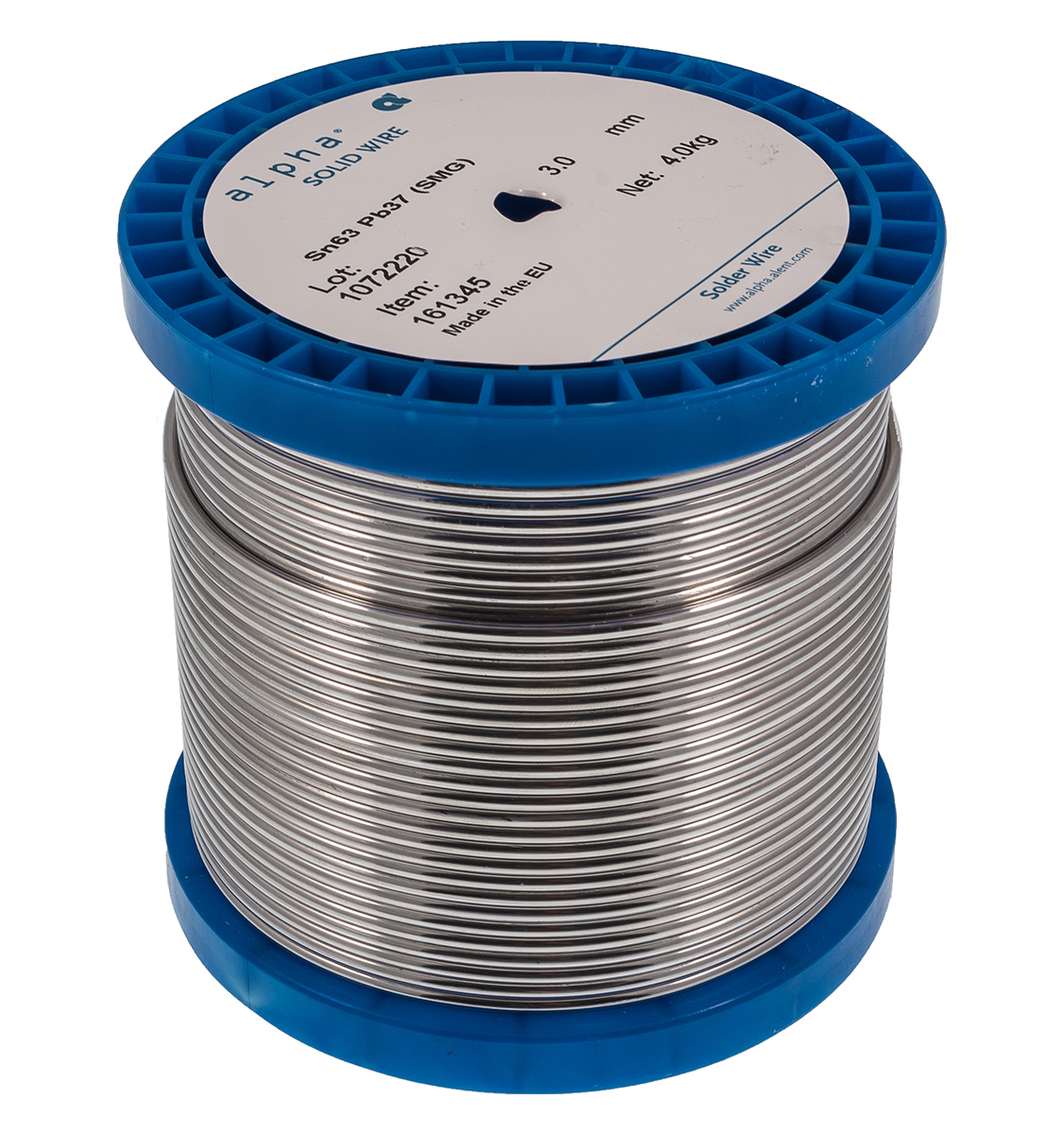 Alpha Metals | Leaded 63/37 Solid Solder Feed Wire | The Solder ...
