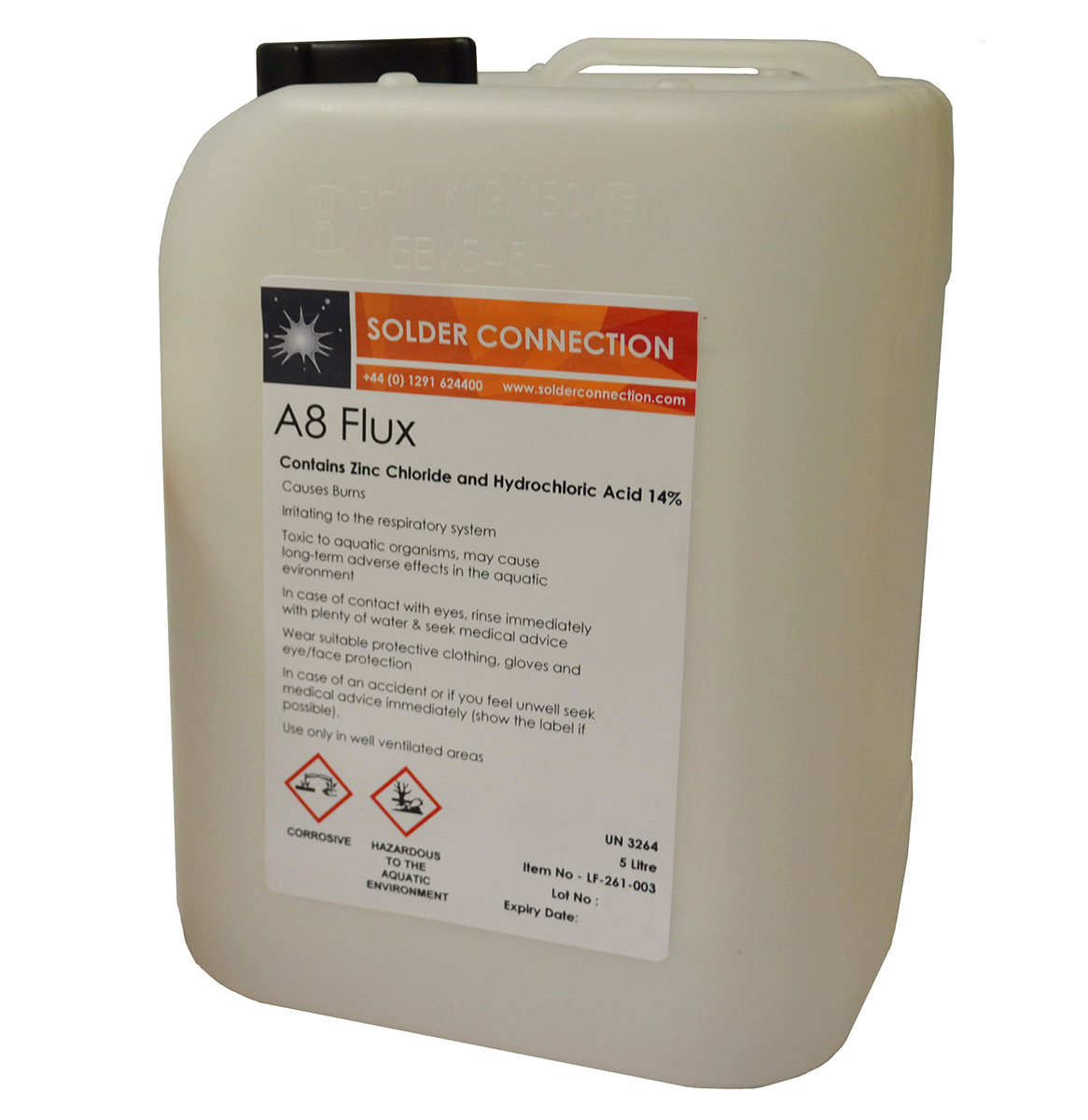 Fry A8 Stainless Steel Flux The Solder Connection