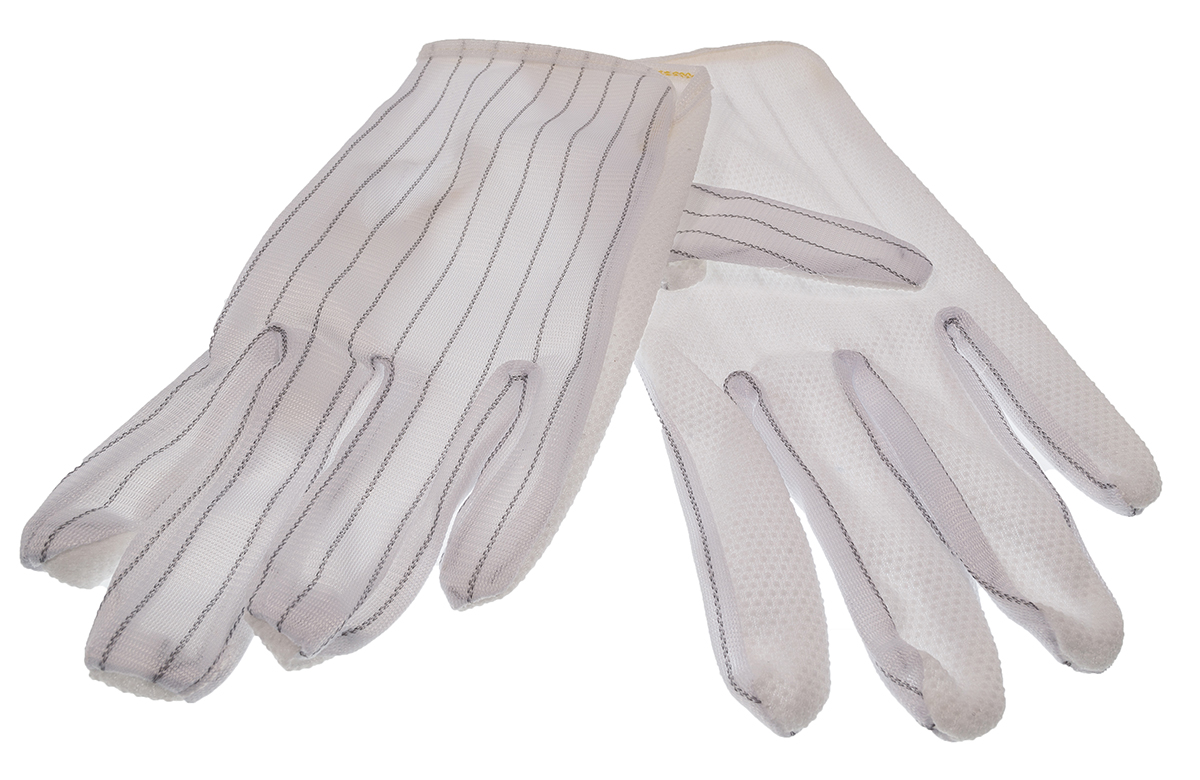 ESD Gloves - Coated Palms (S)