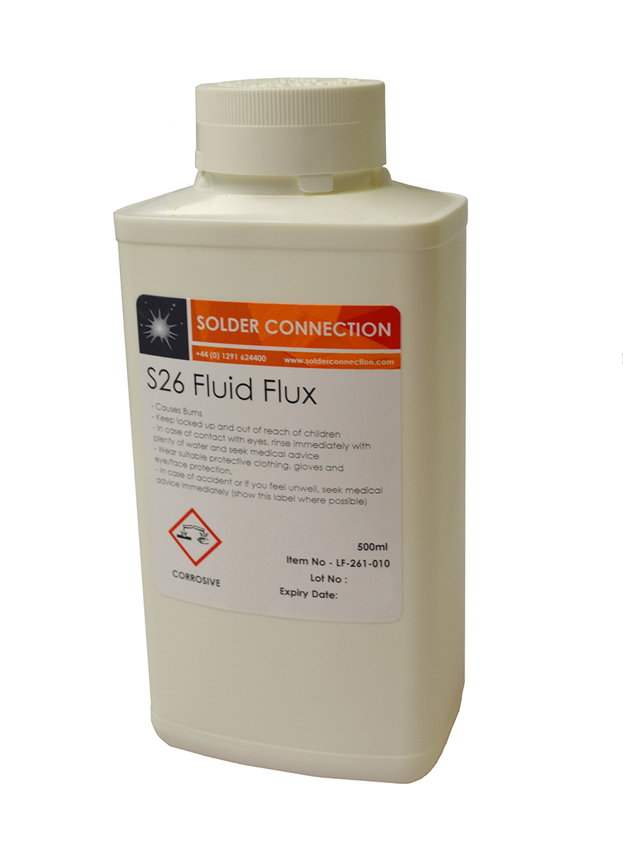 S26 Stainless Steel Flux