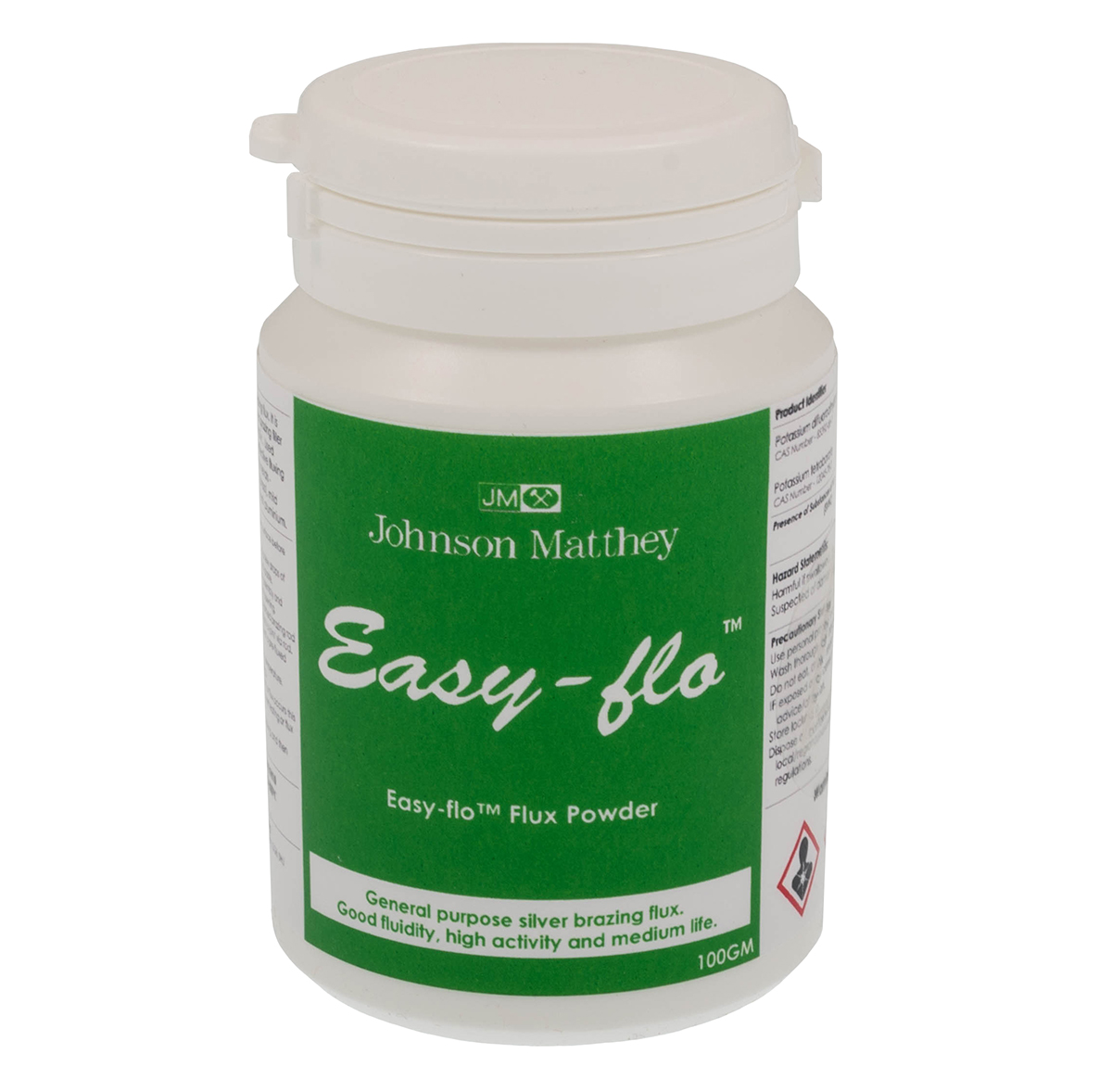 Jewellers Johnson and Matthey Easy flo Flux Powder 25 grams silver soldering