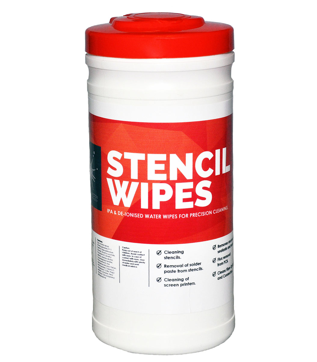 Solder Connection Stencil Wipes