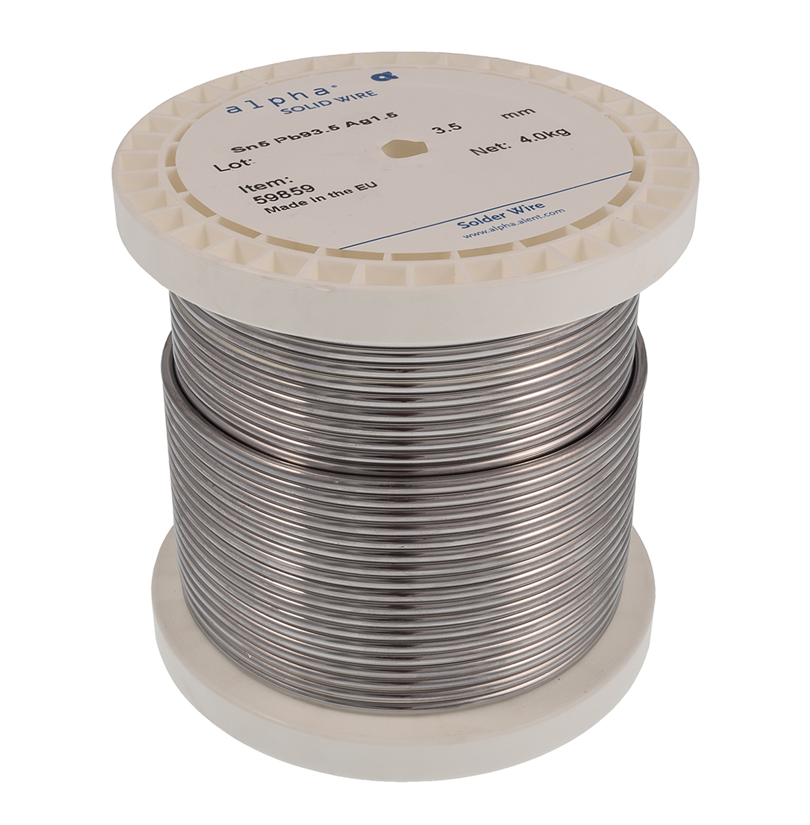 Alpha Metals, LS4 High Temperature Solid Feed Wire, The ... on