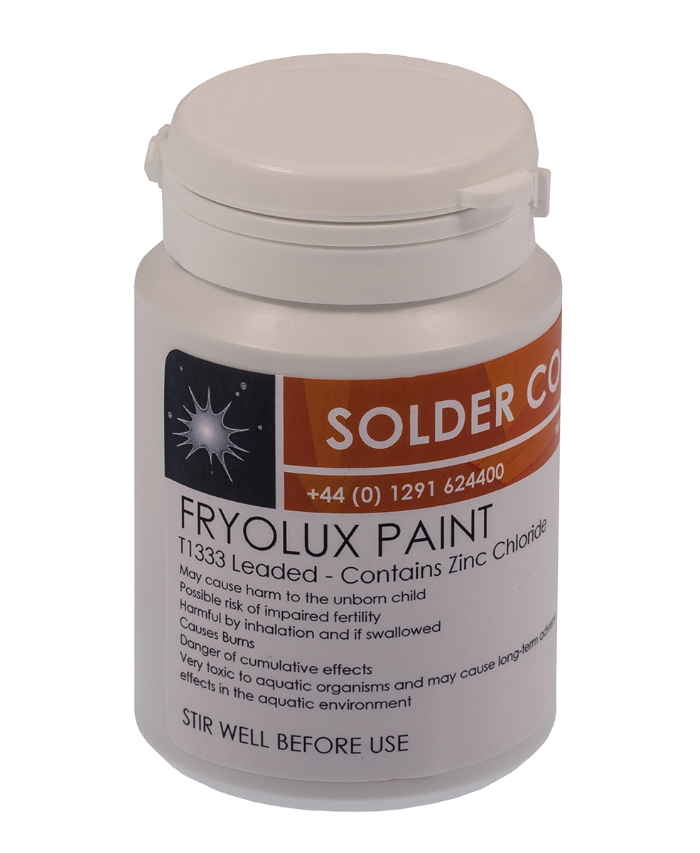 Fryolux Leaded Solder Paint