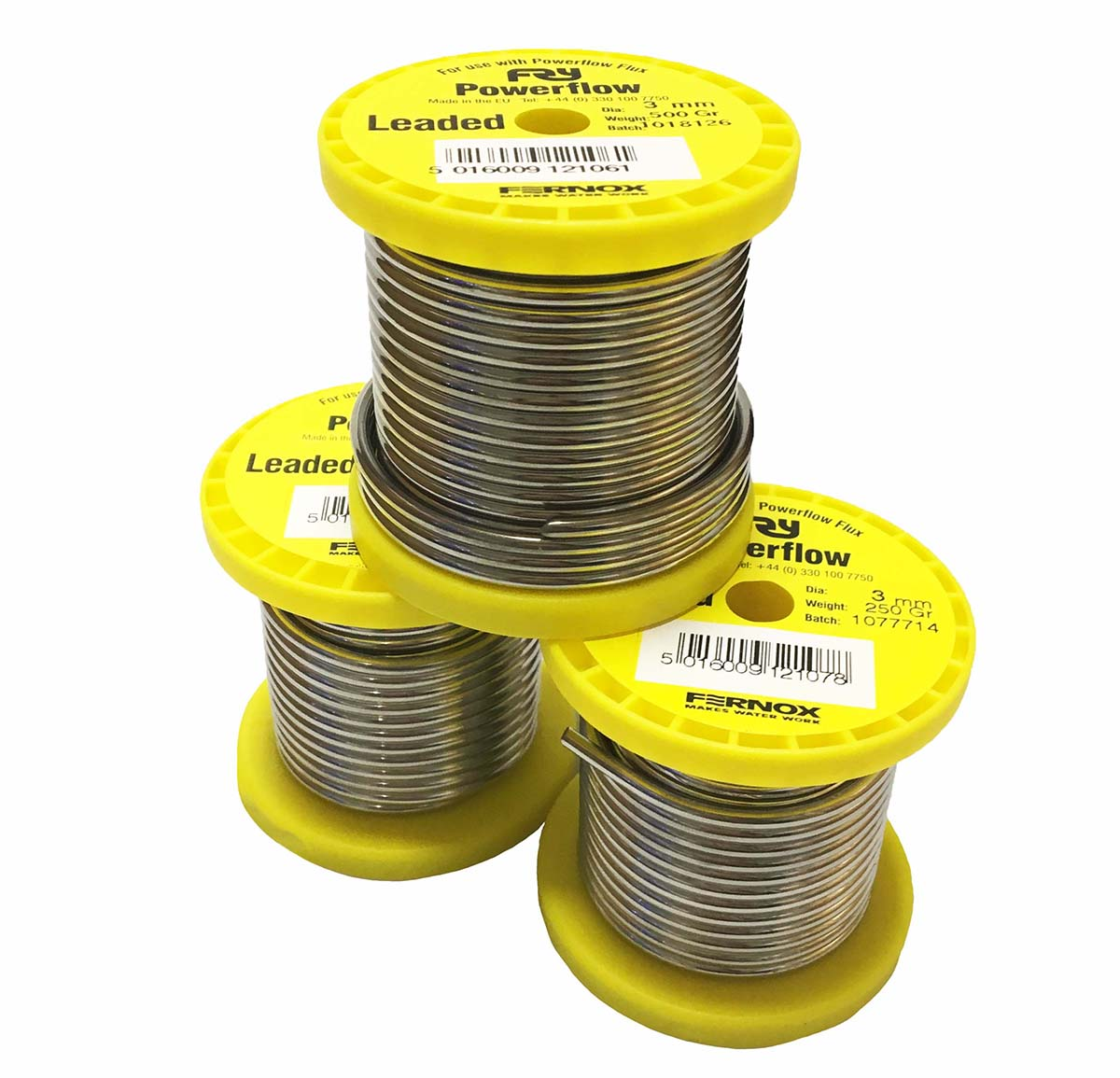 Powerflow Sn30Pb70 Leaded Solid Wire