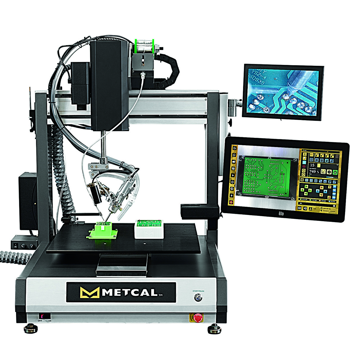 Metcal Connection Validation Robotic Soldering System