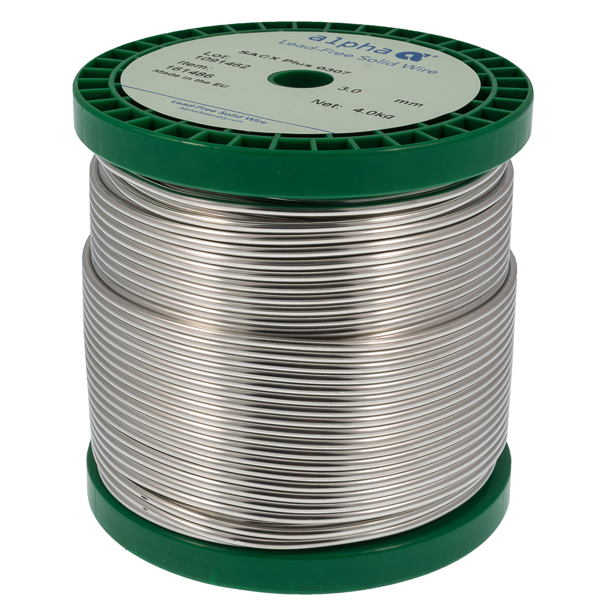 Alpha Metals | Lead-Free SACX Solid Solder Feed Wire | The Solder ...