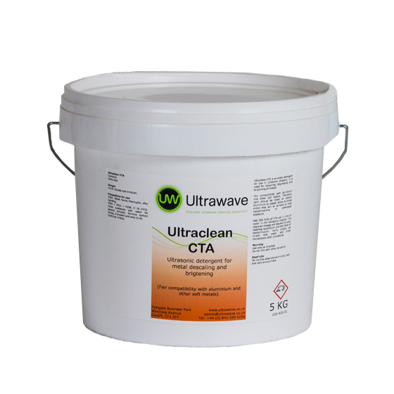 Ultraclean CTA Ultrasonic Detergent